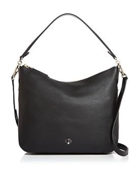 kate spade new york - Medium Pebbled Leather Shoulder Bag