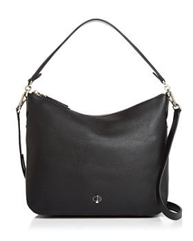 kate spade new york - Medium Pebbled Leather Shoulder Bag ... b0d700e951508