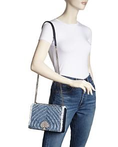 kate spade new york - Medium Denim Convertible Shoulder Bag