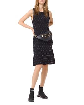 MICHAEL Michael Kors - Embellished Scalloped Tank Dress