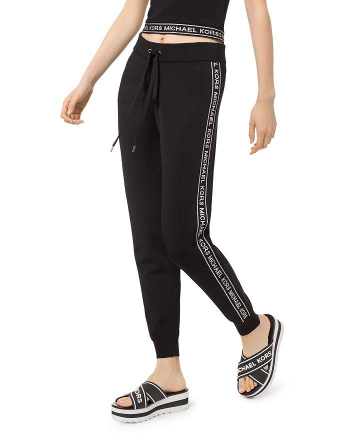 MICHAEL Michael Kors - Logo Stripe Jogger Pants