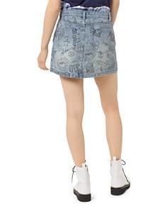 MICHAEL Michael Kors - Summer Camp Denim Mini Skirt in Light Vintage Wash