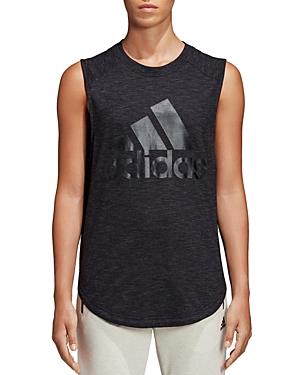 Adidas Winners Logo Muscle Tank