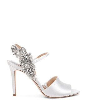 348771fd963020 ... Badgley Mischka - Women s Lidia Embellished High-Heel Slingback Sandals
