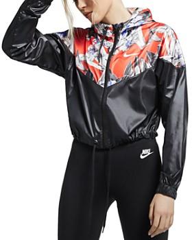 Nike - Windrunner Floral Hooded Jacket