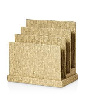 kate spade new york - Grasscloth File Organizer