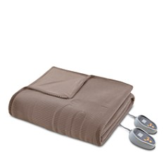 Beautyrest - Microfleece Heated Blankets
