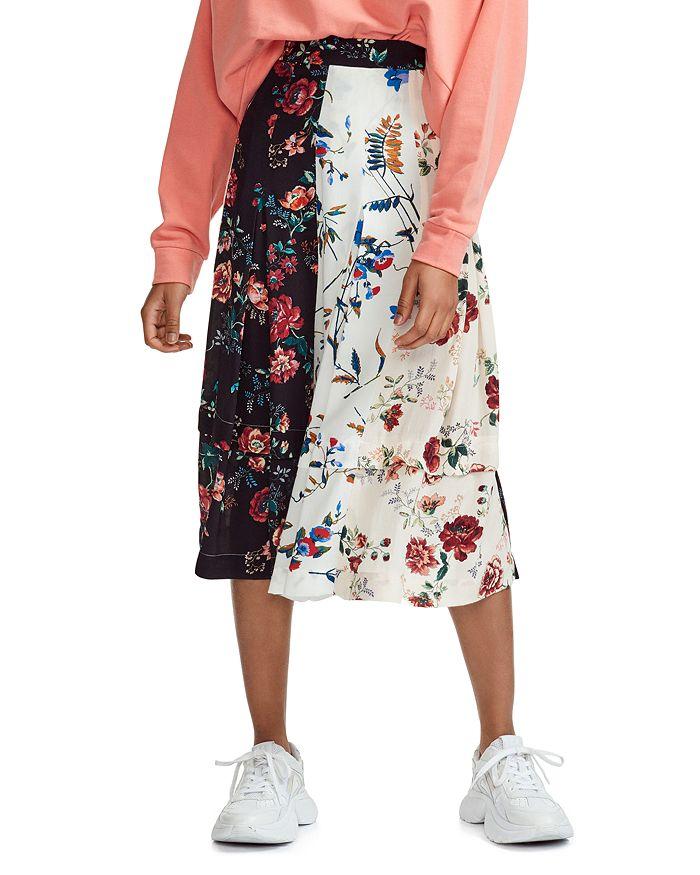 Maje - Jinger Floral Midi Skirt