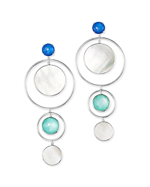 Ippolita Accessories STERLING SILVER WONDERLAND MOTHER-OF-PEARL DROP EARRINGS