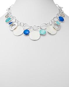 "IPPOLITA - Sterling Silver Wonderland Mother-of-Pearl Doublet Statement Necklace, 18"""