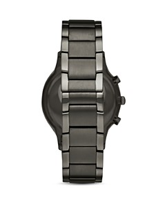 Armani - Chronograph Gunmetal Stainless Steel Watch, 43mm