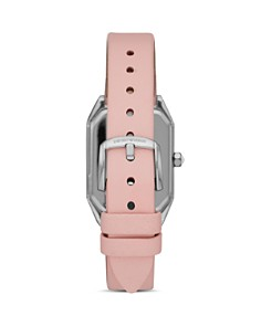 Emporio Armani - Armani Ladies Pink Leather Strap Watch, 24mm x 35mm