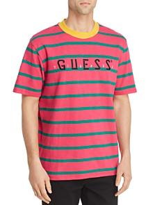 GUESS - J Blavin Concert Striped Logo Tee