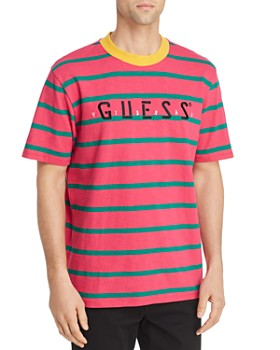 GUESS - J Blavin Concert Striped Logo Tee