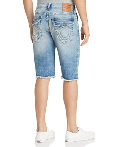 True Religion - Ricky Flap Denim Shorts in Light Adaptation