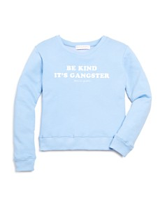 Spiritual Gangster - Girls' Kind Crewneck Sweatshirt - Little Kid, Big Kid