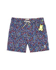 Psycho Bunny - Boys' Multicolored Swim Trunks - Little Kid, Big Kid