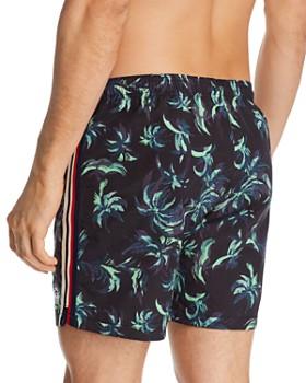Scotch & Soda - Palm Tree-Printed Swim Shorts