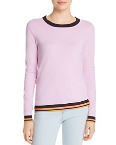 Scotch & Soda - Metallic Ribbed-Trim Sweater