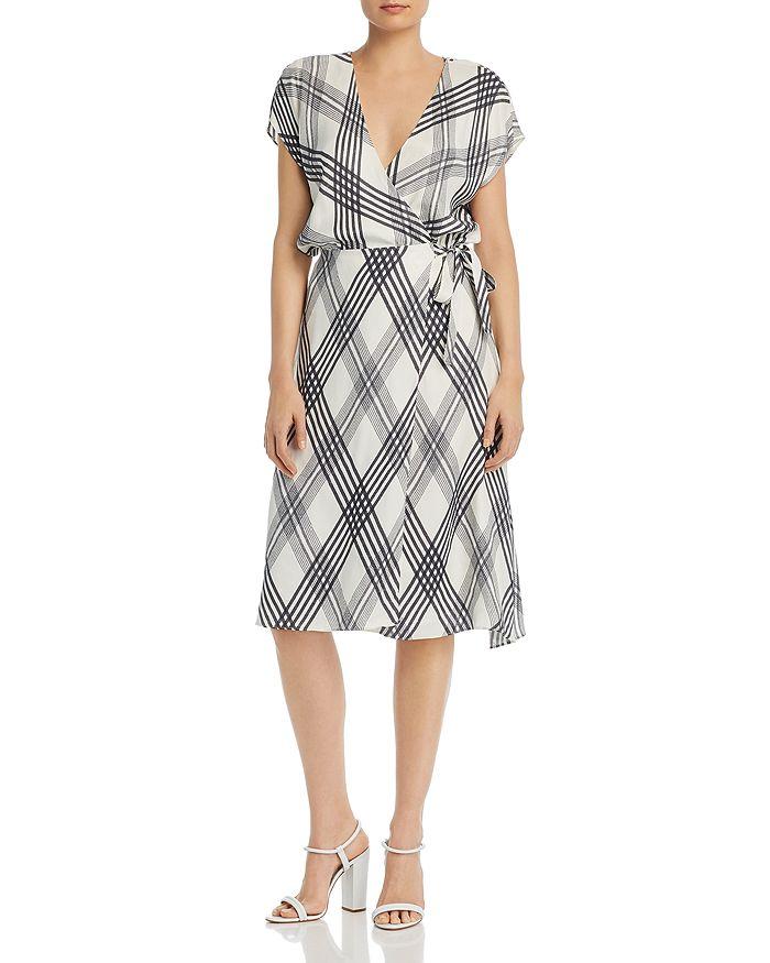 Joie - Bethwyn B Plaid Wrap Dress
