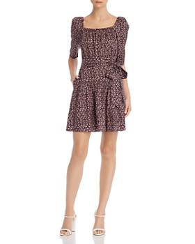 Rebecca Taylor - Francesca Floral-Print Dress