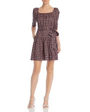 Rebecca Taylor Dresses FRANCESCA FLORAL-PRINT DRESS