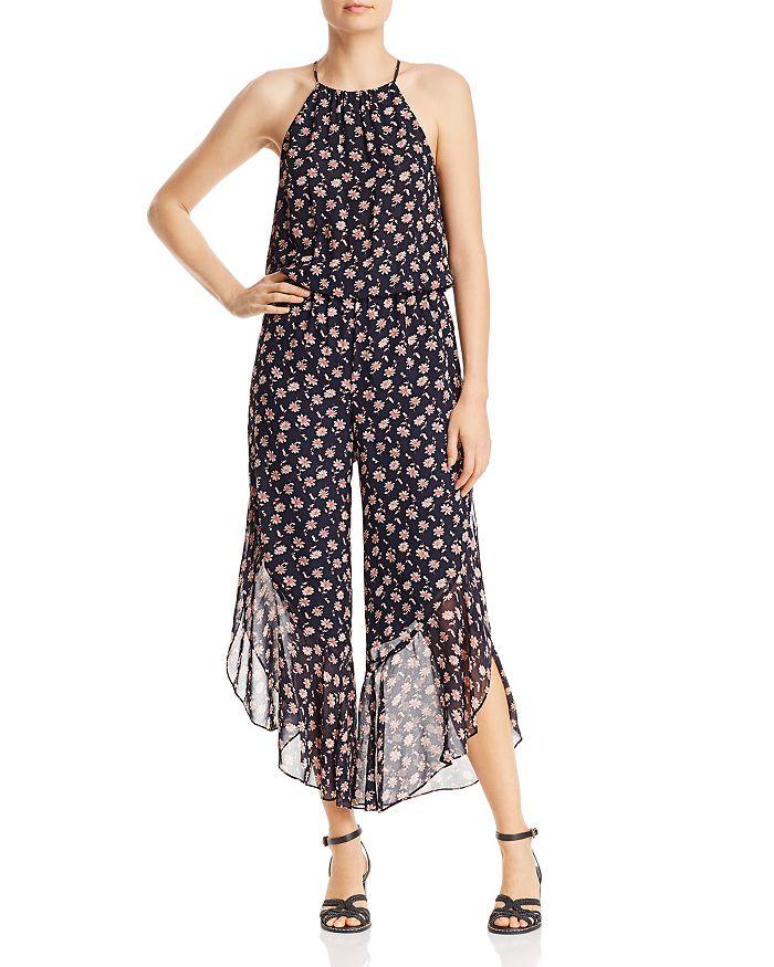 Joie - Jael Floral-Print Silk Jumpsuit