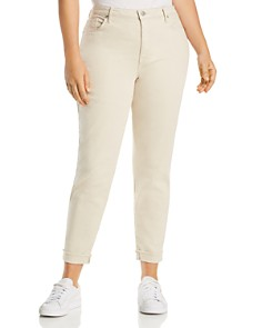 NYDJ Plus - Ami Ankle Skinny Jeans in Feather