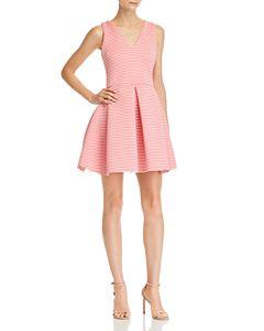 822a99da10 AQUA Crisscross Fit-and-Flare Dress - 100% Exclusive