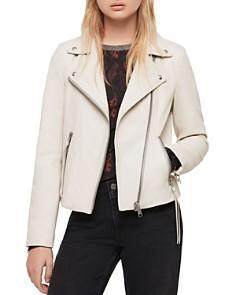 ALLSAINTS - Dalby Leather Biker Jacket