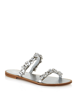 Badgley Mischka Sandals WOMEN'S LOVEDAY EMBELLISHED SANDALS