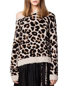 Zadig & Voltaire - Kansas Leopard-Print Cashmere Sweater
