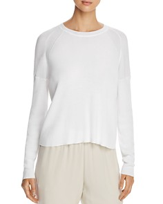 Eileen Fisher - Lightweight Ribbed Sweater - 100% Exclusive