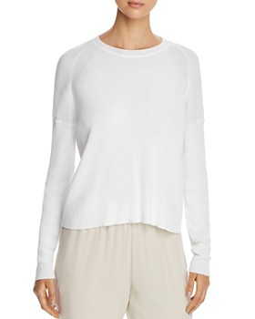 e5a87214c4 Eileen Fisher - Lightweight Ribbed Sweater - 100% Exclusive ...