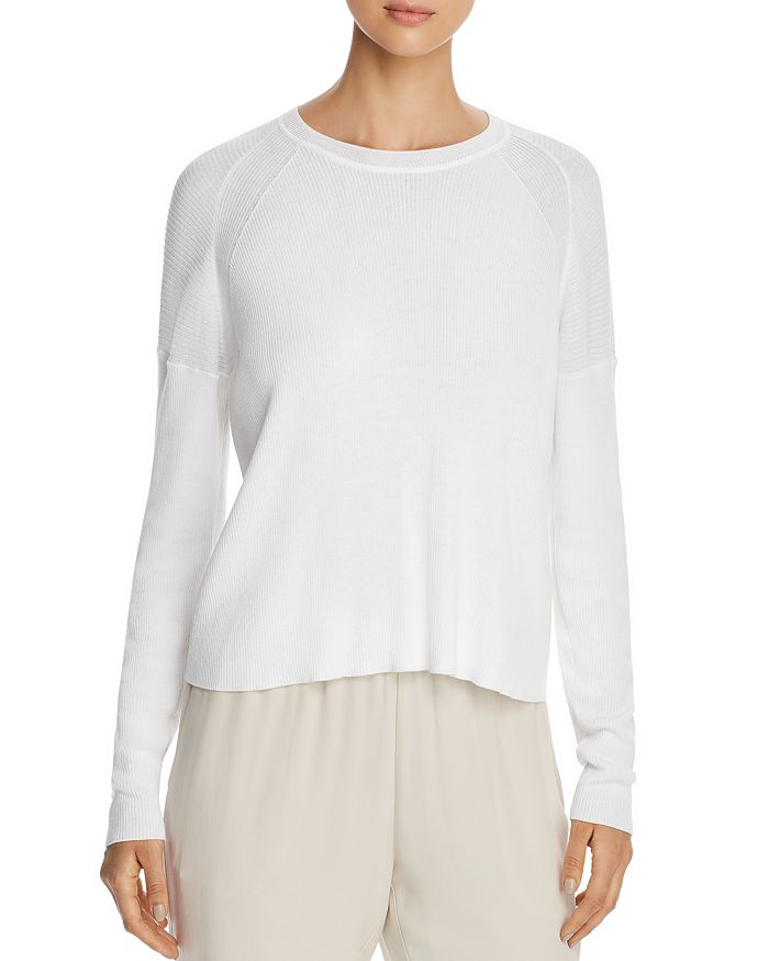 Eileen Fisher Petites - Petites Ribbed Sweater - 100% Exclusive