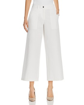 Lafayette 148 New York - Fulton Cropped Wide-Leg Pants