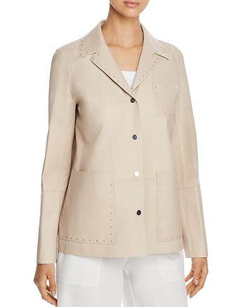 Lafayette 148 New York - Jolisa Studded Leather Jacket