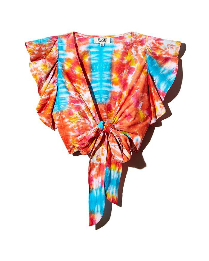All Things Mochi - Lana Tie-Dye Wrap Top
