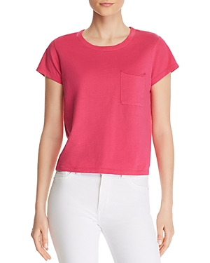 Pam & Gela Tops POCKET CROPPED TEE