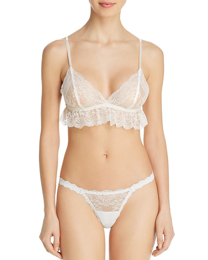 Hanky Panky - Julia Triangle Bralette & Brazilian Bikini