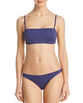 Vitamin A - Mila Convertible Bandeau Bikini Top & Giselle Hipster Bikini Bottom