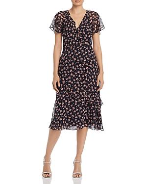Joie Dresses ORITA B FLORAL-SILK DRESS
