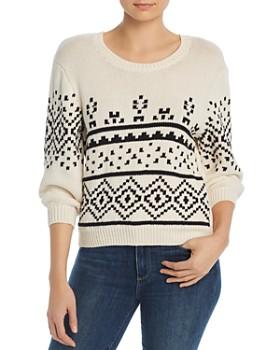 0012aef77a1 Joie - Talena Fair Isle Sweater ...