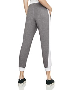 BCBGMAXAZRIA - Color-Block Cropped Jogger Pants