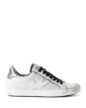 Zadig & Voltaire Women's Zadig Keith Flash Low Top Sneakers
