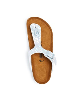 Birkenstock - Girls' Gizeh Hologram Thong Sandals - Toddler, Little Kid