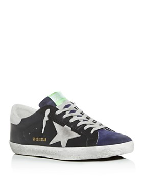c49671a56c11e Golden Goose Deluxe Brand - Men s Distressed Leather Low-Top Sneakers ...
