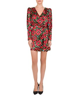 The Kooples - Poppy Print Wrap Dress