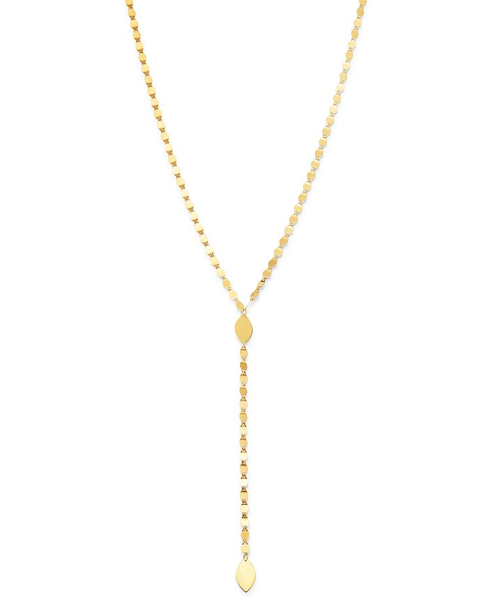 "Moon & Meadow - Charm Y-Necklace in 14K Yellow Gold, 18"" - 100% Exclusive"