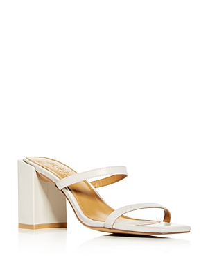 Jaggar Sandals WOMEN'S SQUARE BLOCK-HEEL SLIDE SANDALS